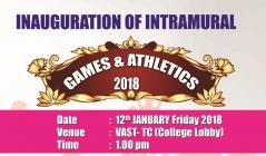 Inauguration of Intramural Games & Athletics 2018