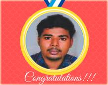 Won Bronze medal for Kerala University Boxing